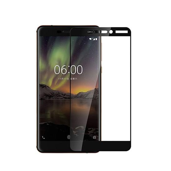 Glass Pro+ Full Screen Tempered Glass Nokia 6 2018 black
