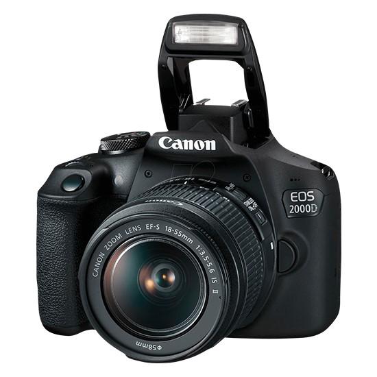 Изображение Canon EOS 2000D EF-S 18-55 IS II KIT Black