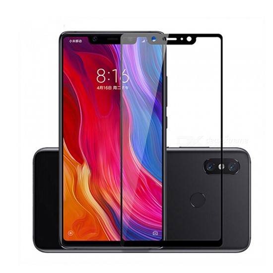 Glass Pro+ Full Screen Tempered Glass Xiaomi Mi 8 black
