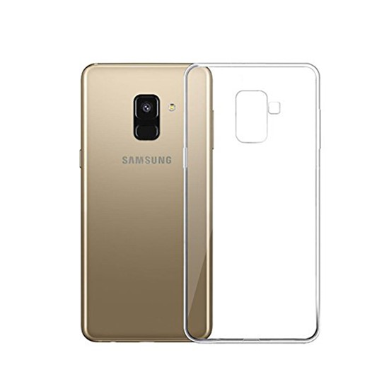 Изображение Hoco UltraSlim TPU Case Samsung A730 Galaxy A8+ transparent