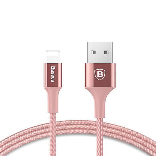 Baseus Shining Cable With Jet metal 1M CALSY-0R rose gold
