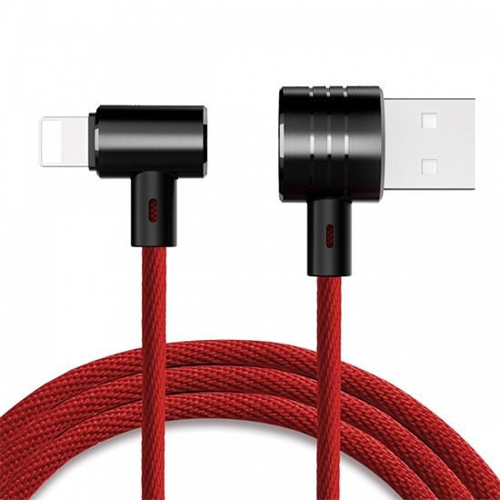 Baseus T-type Magnet Cable Side insert Lightning CALTX-09 red