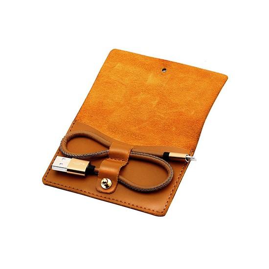 Baseus Vina  Portable USB Cable Lightning CALYN-BOT brown