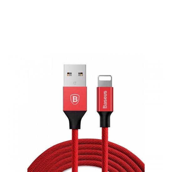 Изображение Baseus Yiven USB Cable Lightning 1.2m CALYW-09 red