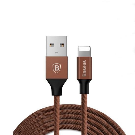 Изображение Baseus Yiven USB Cable Lightning 1.2m CALYW-12 coffee