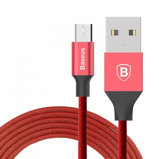 Baseus Yiven USB Cable Micro USB 1.5m CAMYW-B09 red