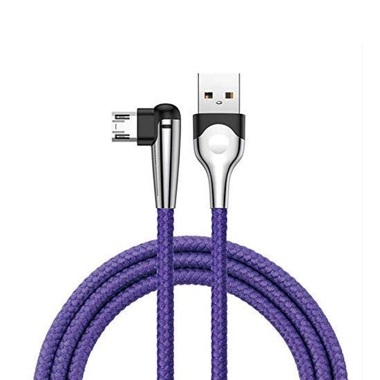 Изображение Baseus MVP Mobile game Cable USB For Micro 2.4A 1M CAMMVP-E03 blue