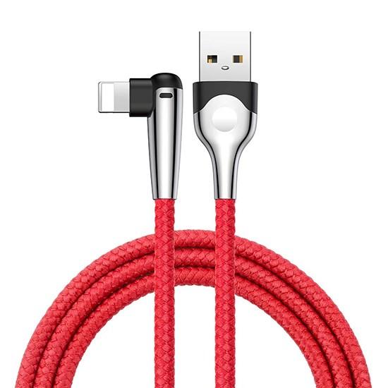 Baseus MVP Mobile Game USB Cable Lightning 1.5A 2m CALMVP-E09 red