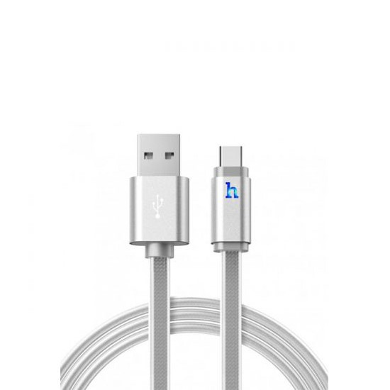 Hoco Charging Cable Three In One UPL12 100cm silver