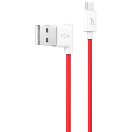 Изображение Hoco Color Cable Micro USB 120cm UPM10 red