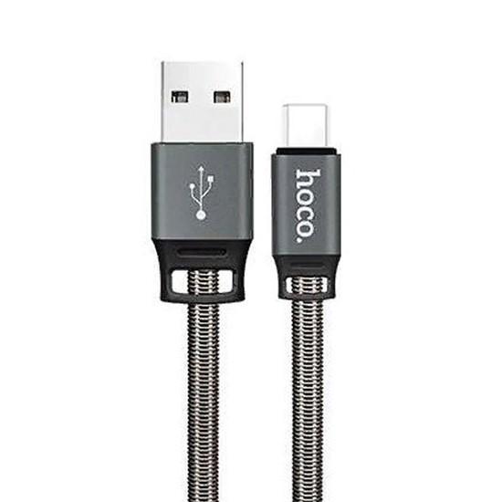 Изображение Hoco Golden Shield Charging Cable Type-C U27 grey