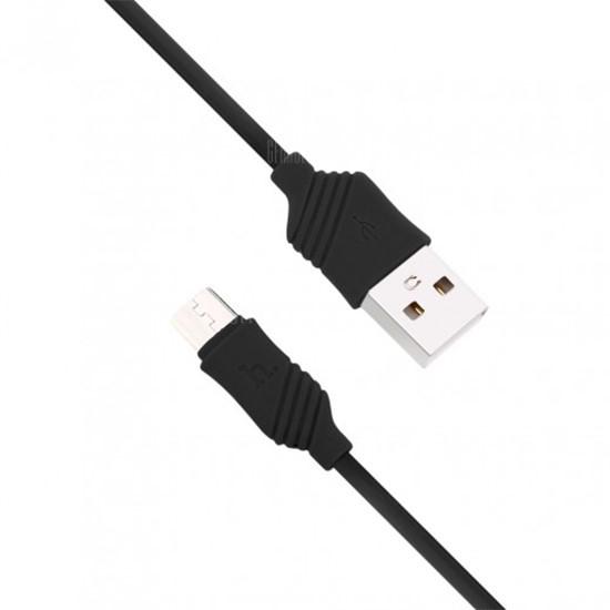 Изображение Hoco Khaki Charging Cable Micro X6 black
