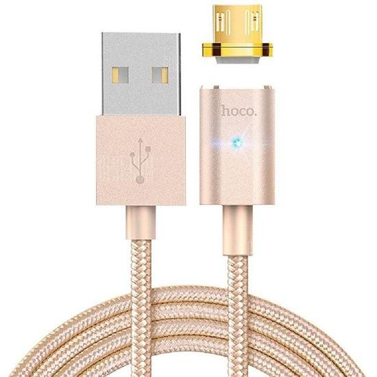Изображение Hoco Magnetic Data Cable U16 Micro USB gold
