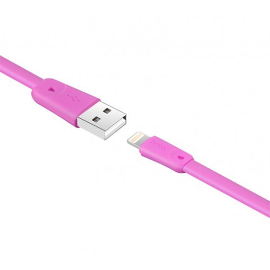 Hoco Rapid Cable X9 Lightning pink