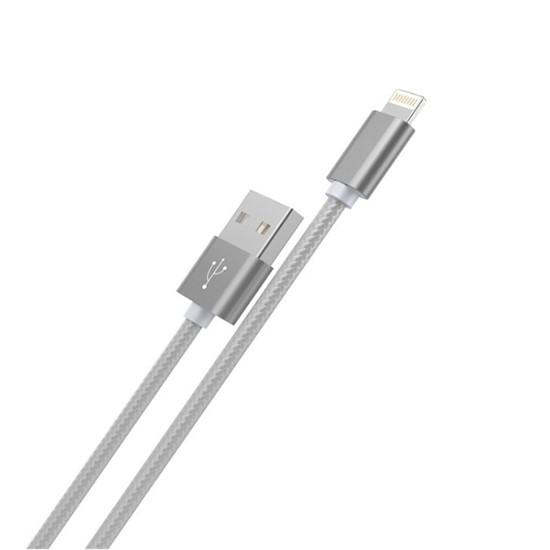 Изображение Hoco Rapid Charging Cable X2 Apple iPhone 6/7 1m grey