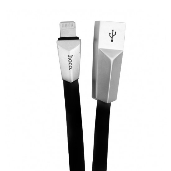 Hoco Rombic Charging Cable X4 Apple iPhone 6/7 1.2m black