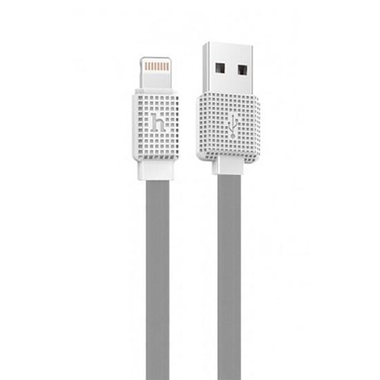 Изображение Hoco Waffle Lighting Charging Cable UPL18 200cm grey