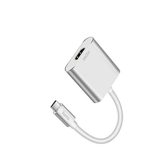 Hoco Yito Type-C To HDMI Adapter HB5 silver