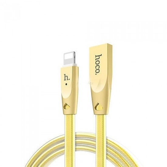 Hoco Zink Alloy Cable Type-C To Lightning U9 gold