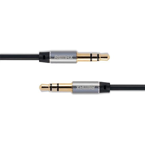 Remax 3.5 Aux Audio Cable 1000mm RL-L100 black