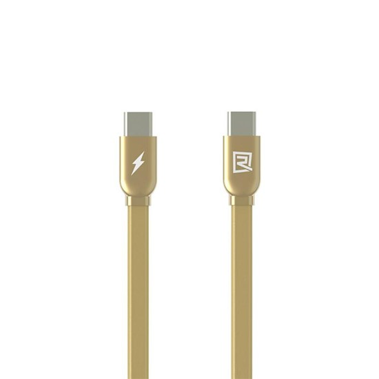 Remax Cable Type-C to Type-C RC-046a gold
