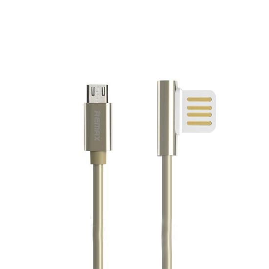 Изображение Remax Data Cable Emperor Micro USB RC-054m 1000mm gold