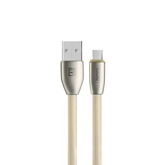 Remax Data Cable Knight Micro USB RC-043m 1000mm gold