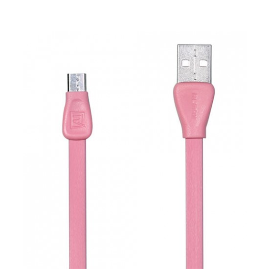 Remax Data Cable Martin Micro USB RC-028m 1000mm pink