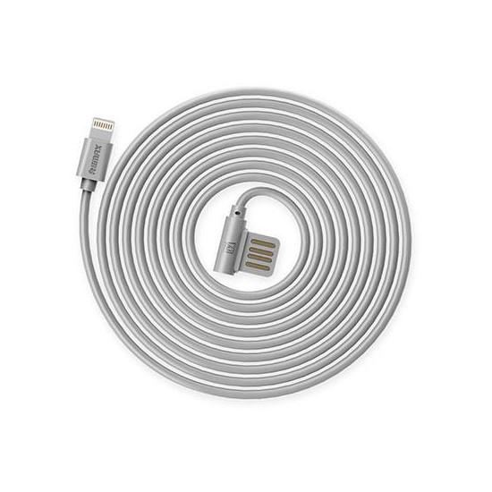Remax Data Cable Rayen Lightning RC-075i grey
