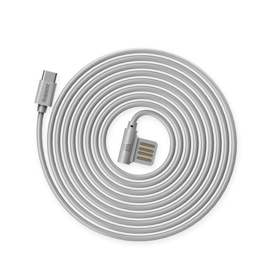 Remax Data Cable Rayen Type-c RC-075a grey