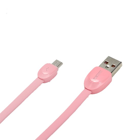 Изображение Remax Data Cable Shell Micro USB RC-040m 1000mm pink