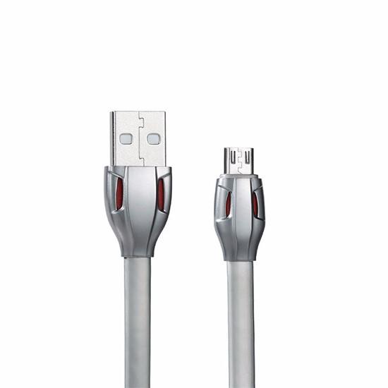 Изображение Remax Laser Data Cable Micro USB 1000mm RC-035m grey