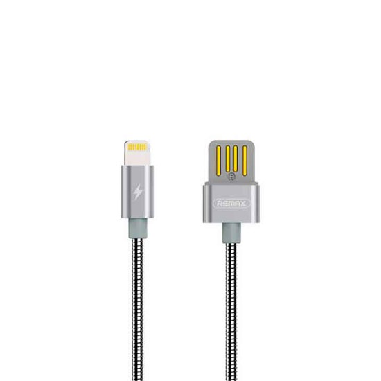 Remax Silver Serpent Series Cable Lightning RC-080i grey