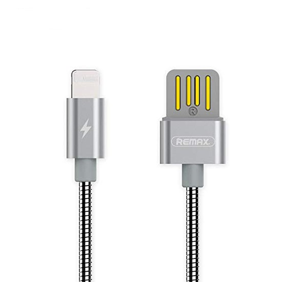 Изображение Remax Silver Serpent Series Cable Lightning RC-080i silver
