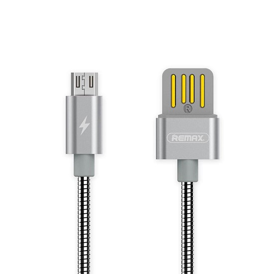 Remax Silver Serpent Series Cable Micro RC-080m grey