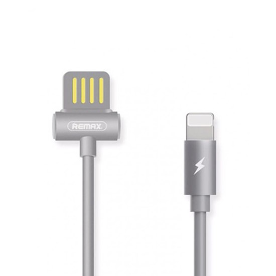 Remax Waist Drum Data Cable RC-082i for Lightning grey