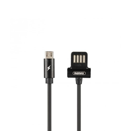 Remax Waist Drum Data Cable RC-082m for Micro USB black