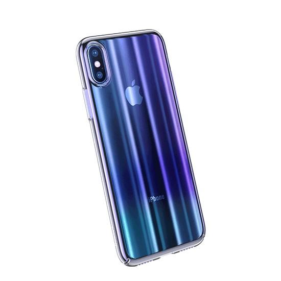 Baseus Aurora Case Apple iPhone X WIAPIPHX-JG03 blue