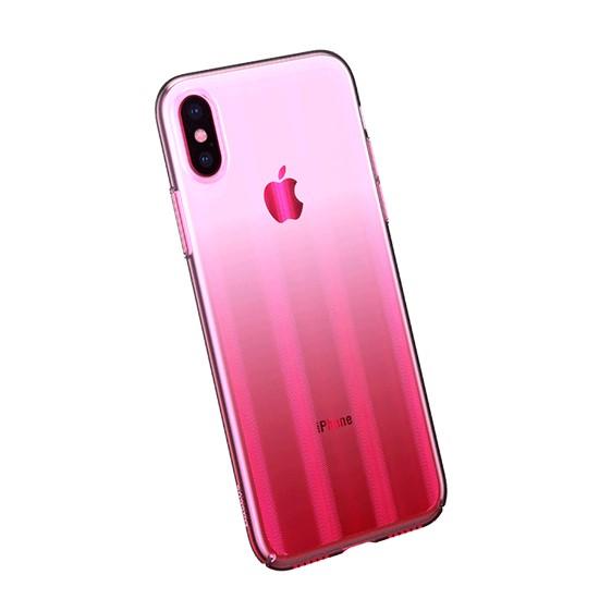 Baseus Aurora Case Apple iPhone X WIAPIPHX-JG04 pink