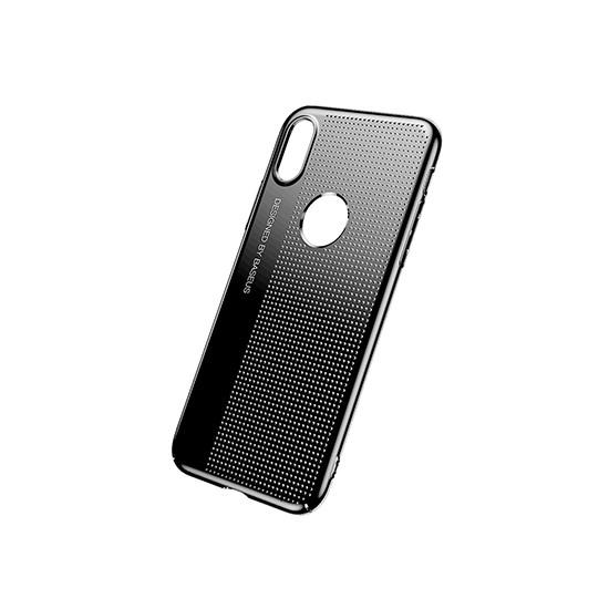 Изображение Baseus Bright Case Apple iPhone X WIAPIPHX-MX01 black
