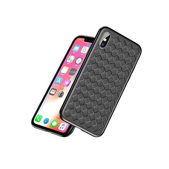 Изображение Baseus BV Weaving Case Apple iPhone X WIAPIPHX-BV01 black