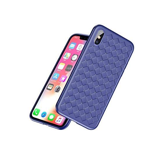 Изображение Baseus BV Weaving Case Apple iPhone X WIAPIPHX-BV03 blue
