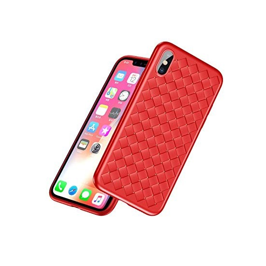 Baseus BV Weaving Case Apple iPhone X WIAPIPHX-BV09 red