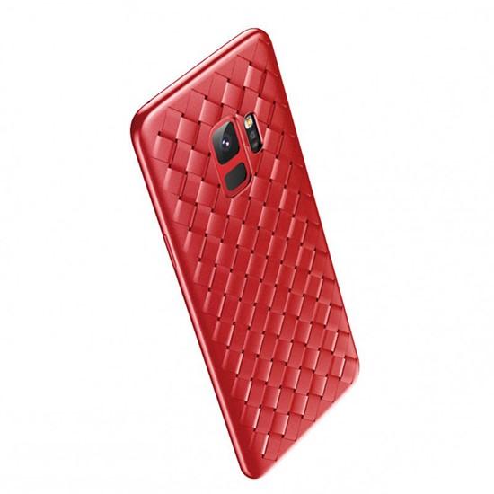 Изображение Baseus BV Weaving Case Samsug G965 Galaxy S9 Plus WISAS9P-BV09 red