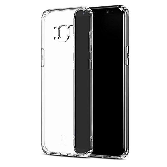 Изображение Baseus Clear TPU Case Simple Series Samsung G955 Galaxy S8+ ARSAS8P-02 transparent