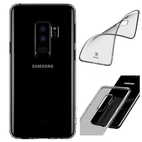 Baseus Clear TPU Case Simple Series Samsung G965 Galaxy S9 Plus ARSAS9P-02 transparent