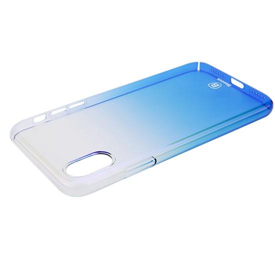 Изображение Baseus Glaze Case Apple iPhone X WIAPIPHX-GC03 blue