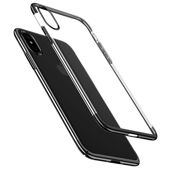 Baseus Glitter Case Apple iPhone X WIAPIPHX-DW01 black
