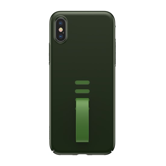 Baseus Little Tail Case Apple iPhone X WIAPIPHX-WB06 black/green