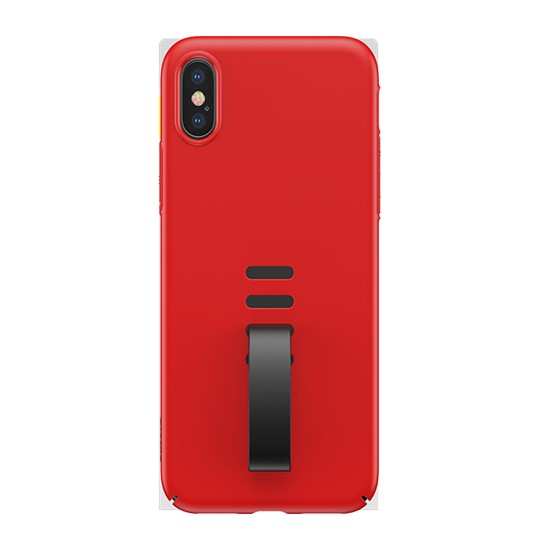 Baseus Little Tail Case Apple iPhone X WIAPIPHX-WB09 red/black